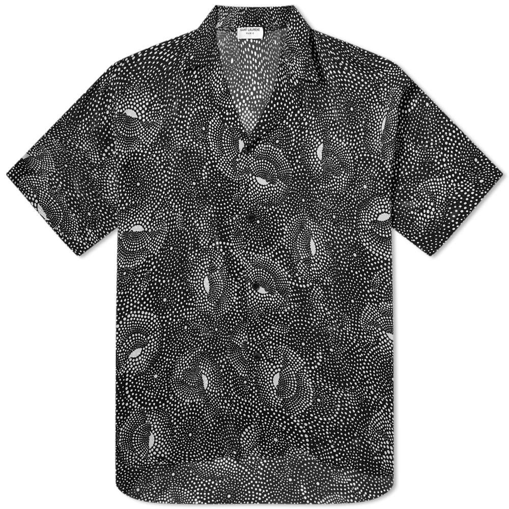 Saint Laurent Spiral Printed Vacation Shirt