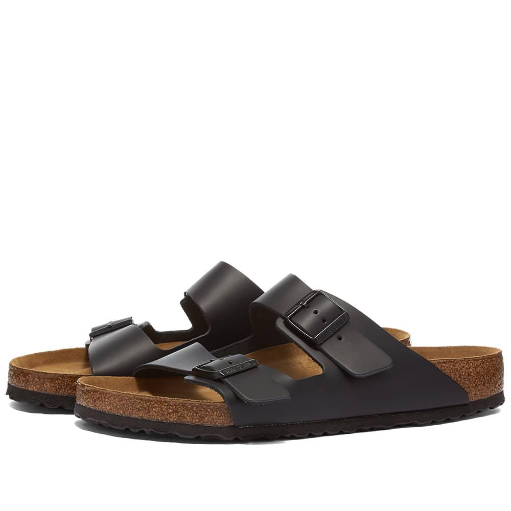 Birkenstock Arizona - Black Smooth Leather