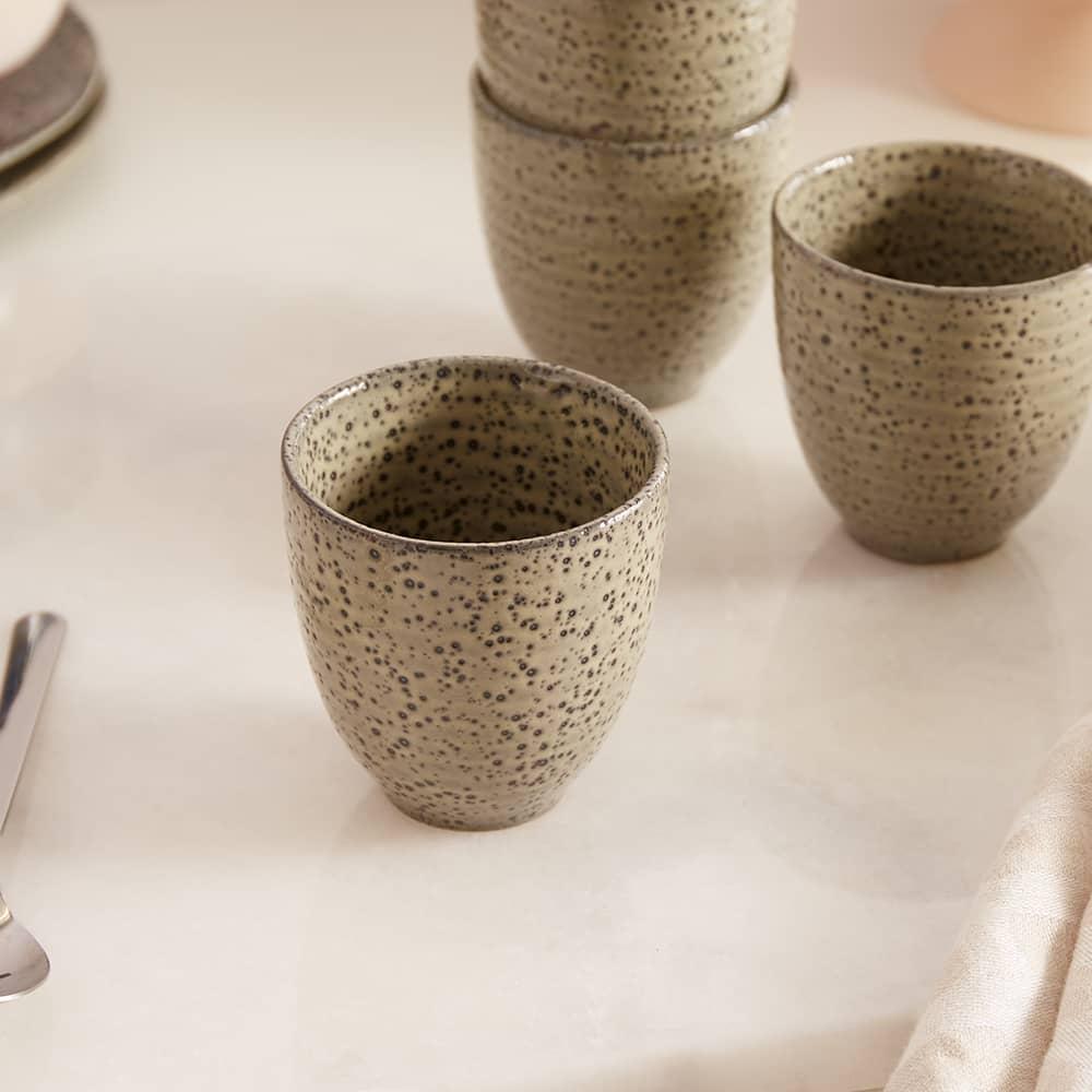 HKliving Gradient Mugs - Set of 4 - Green