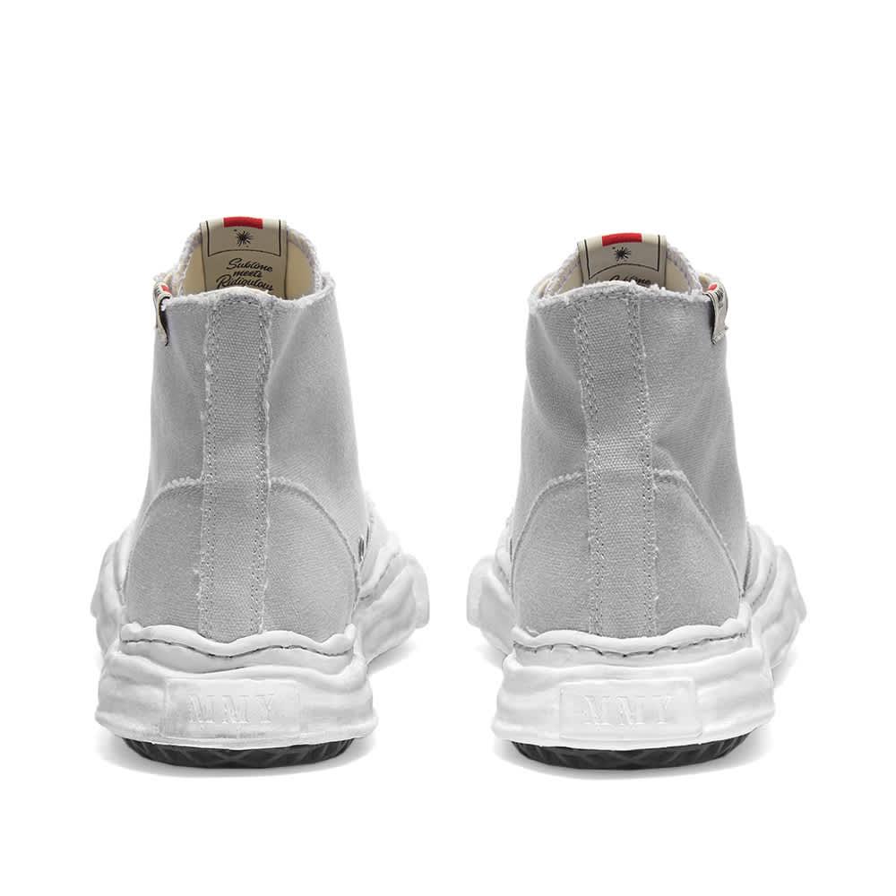 Maison MIHARA YASUHIRO Peterson Hi Original Sole Dyed Sneaker - Grey