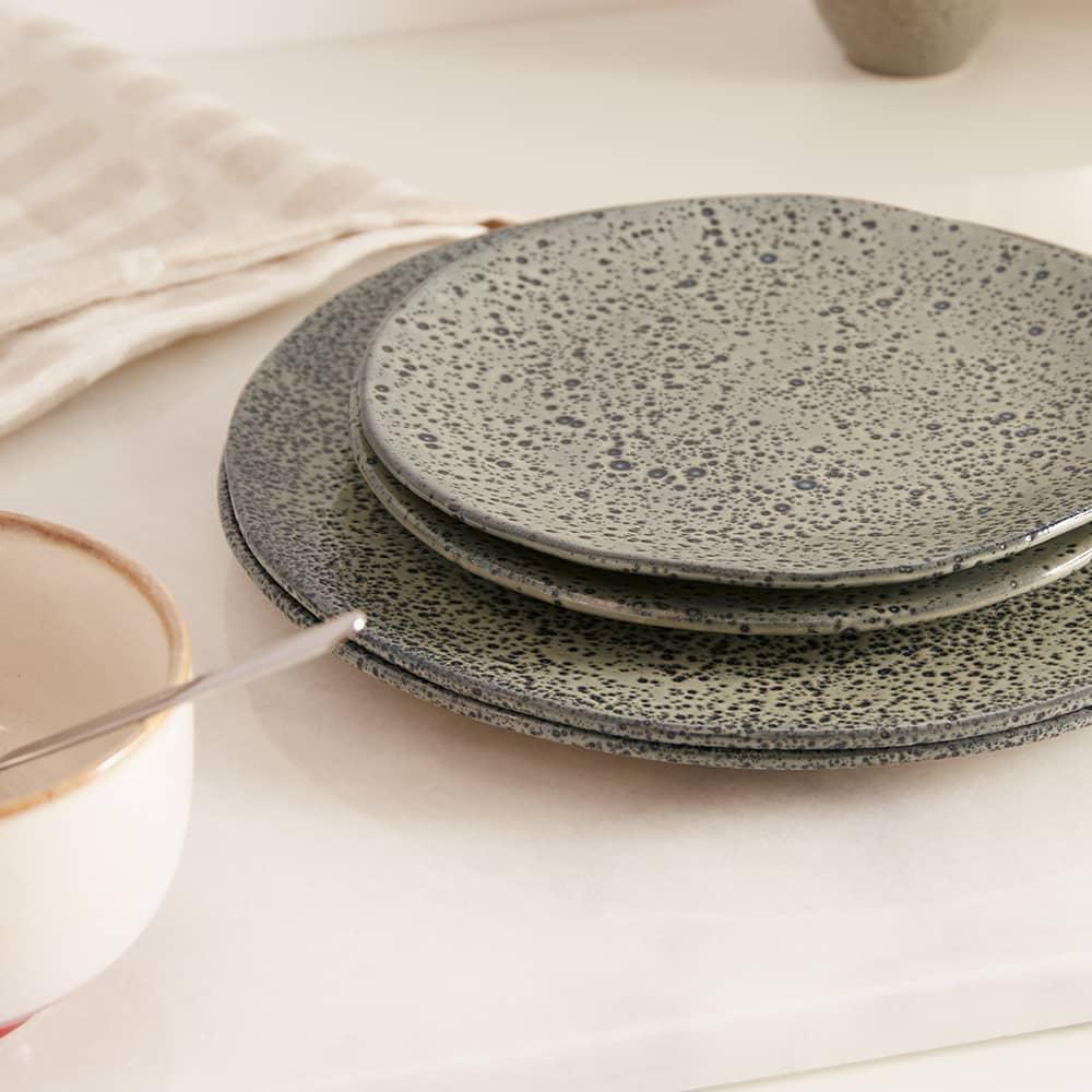 HKliving Gradient Side Plate - Set of 2 - Green
