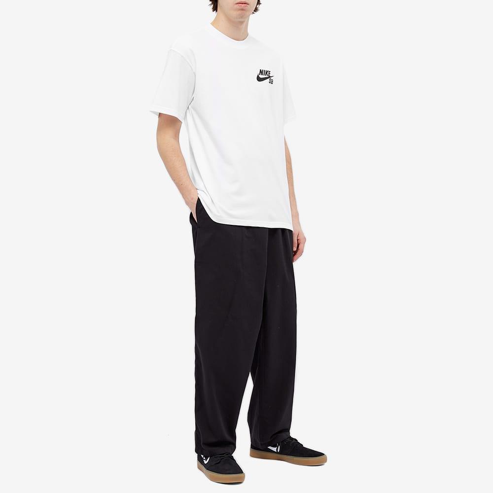 Nike SB Logo Tee - White & Black