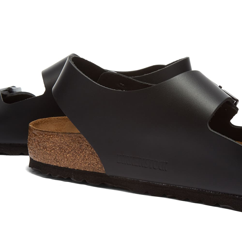 Birkenstock Milano - Black Smooth Leather