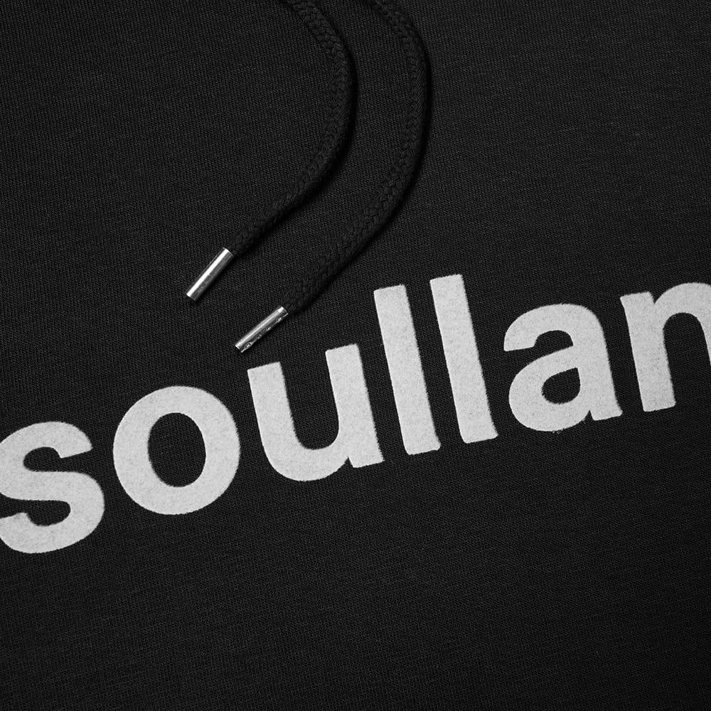 Soulland Googie Logo Hoody - Black