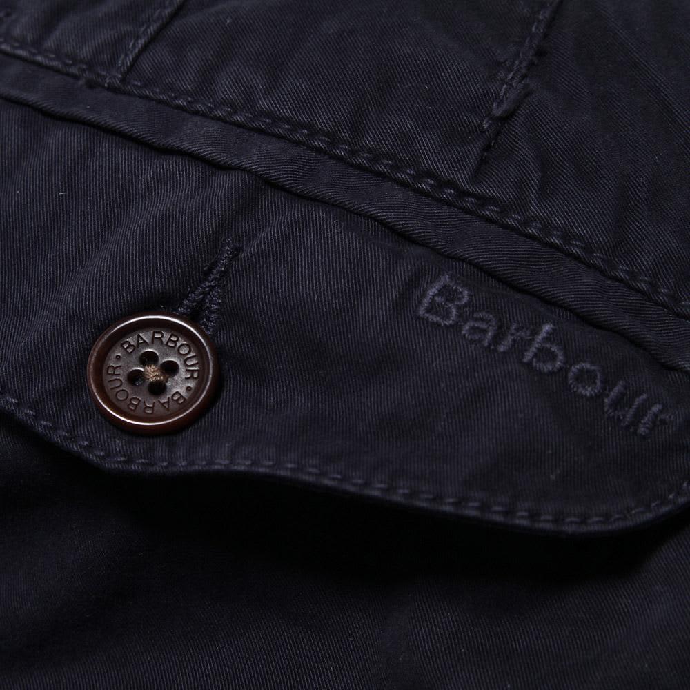 Barbour Euston Garment Dyed Chino - Navy