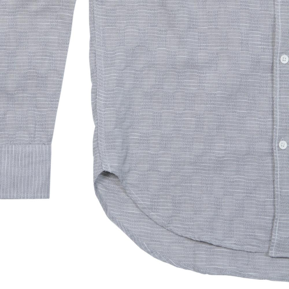 Our Legacy 1950s Button Down Shirt - Pixel Grey Bucle Check