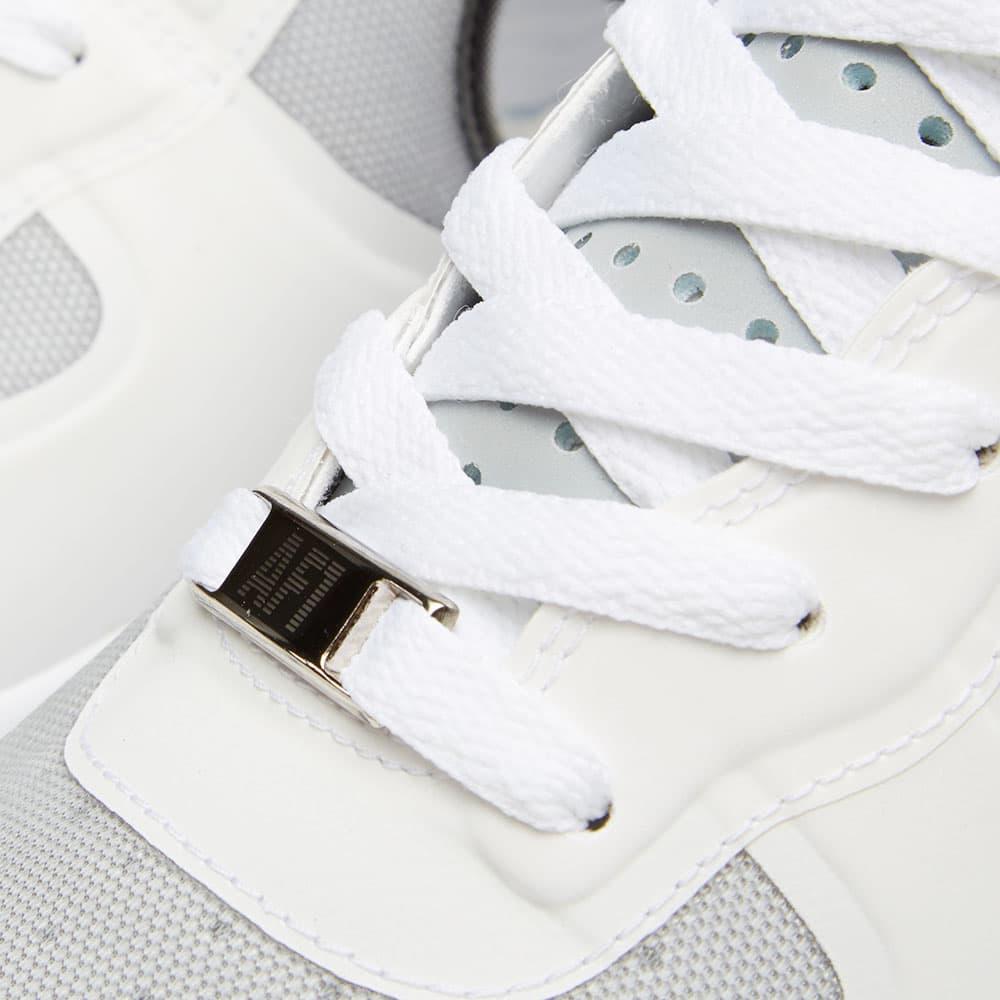 Nike Lunar Force 1 Hi Wow QS - White & Metallic Silver