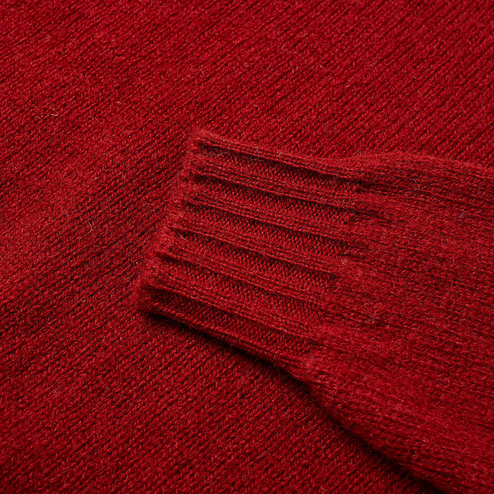 Jamieson's of Shetland Roll Neck Knit - Madder