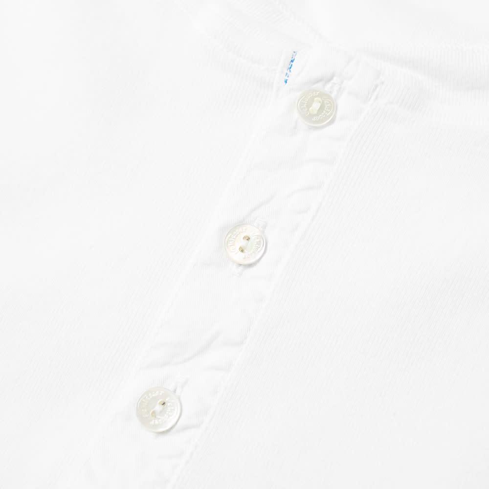 Schiesser Karl-Heinz Long Sleeve Henley - White