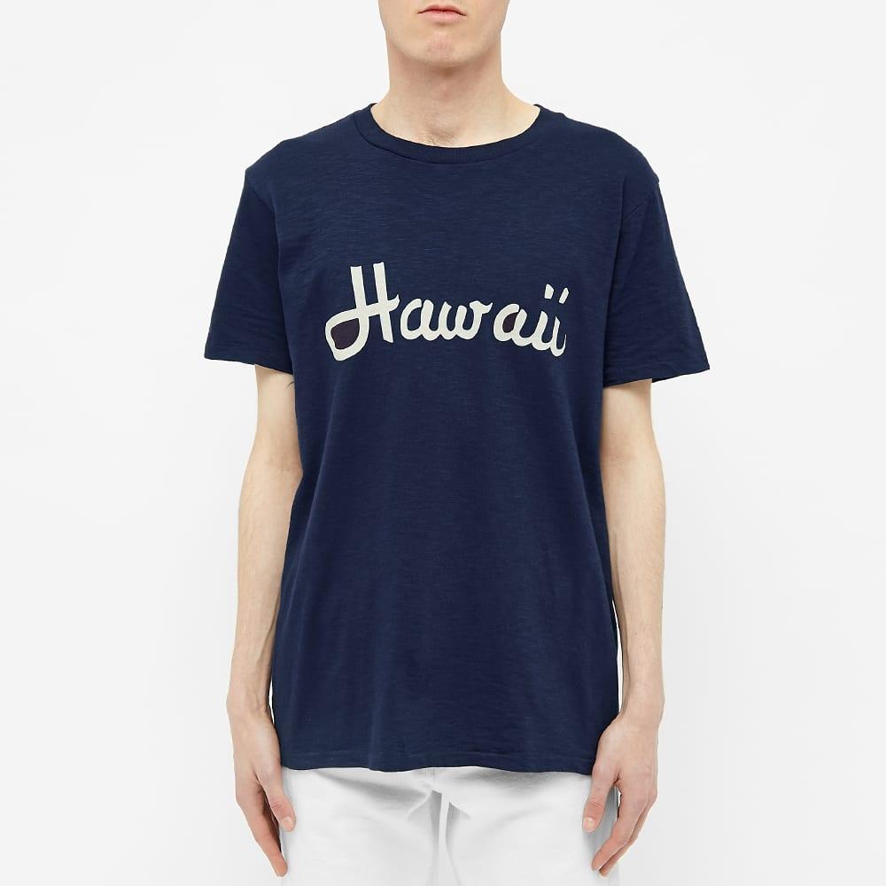 Velva Sheen Hawaii Tee - Navy