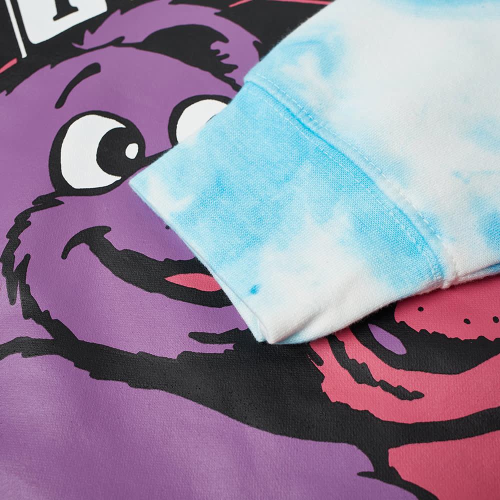 Chinatown Market Hypercute Crew Sweat - Blue Tie Dye