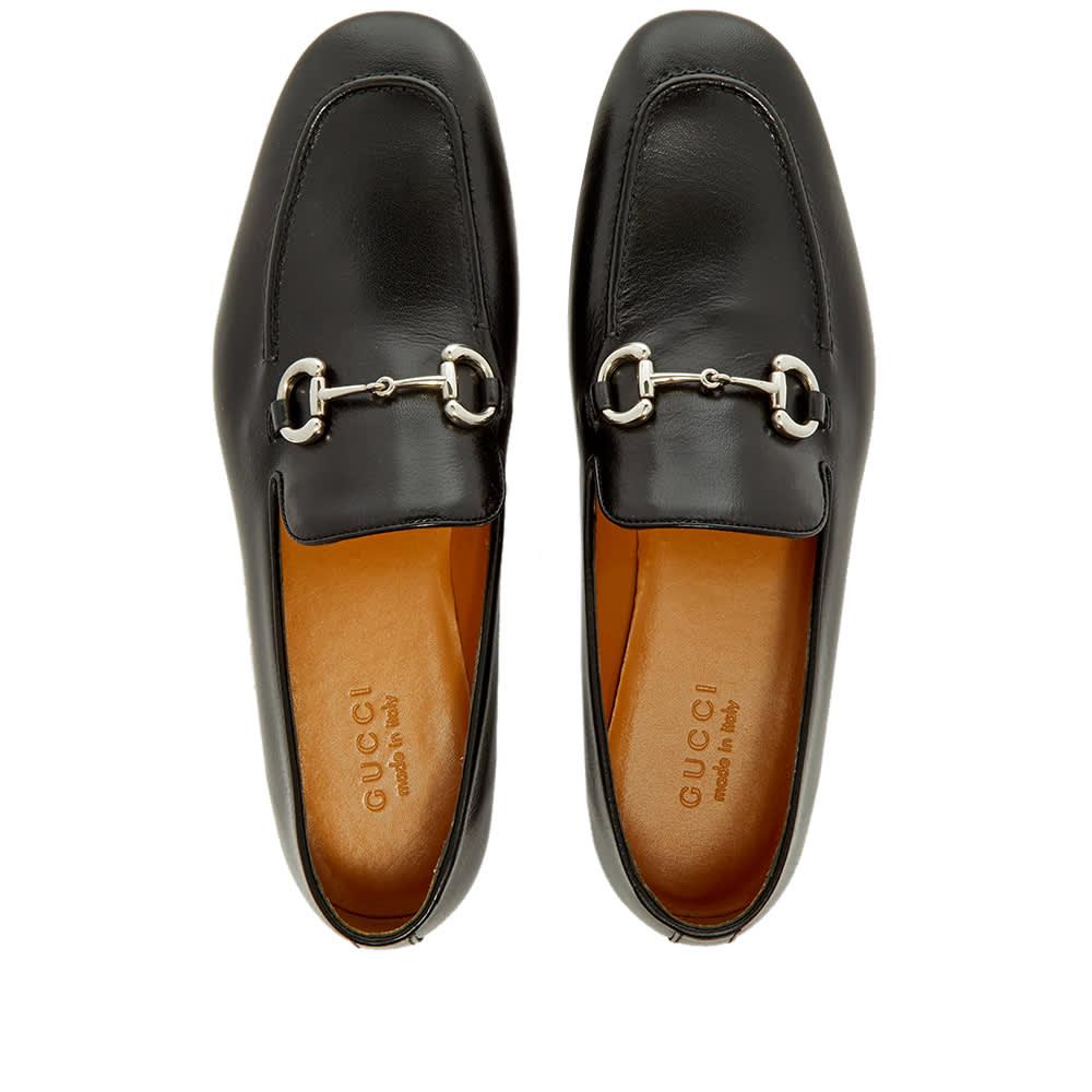 Gucci Donnie Horse Bit Loafer - Black & Silver
