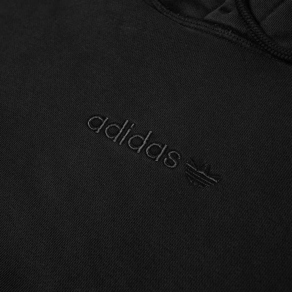 Adidas Garment Dye Hoody - Black