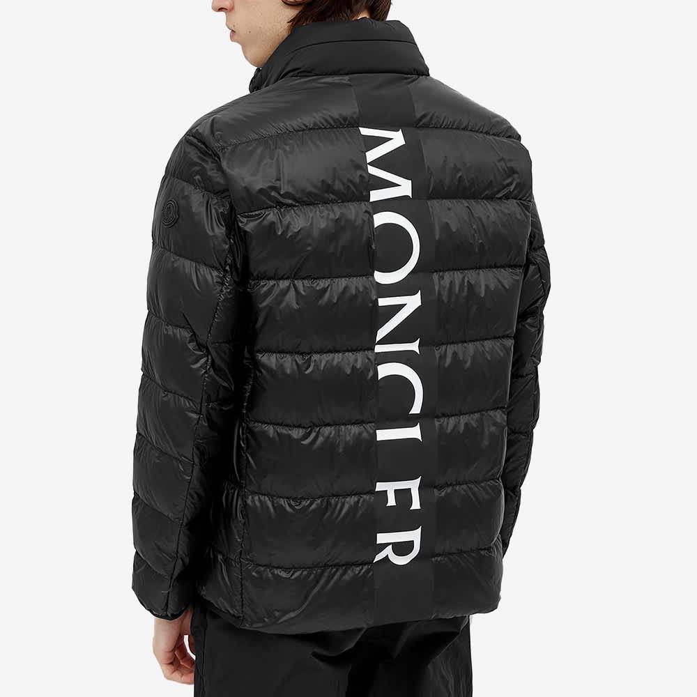 Moncler Peyre Back Logo Down Jacket - Black