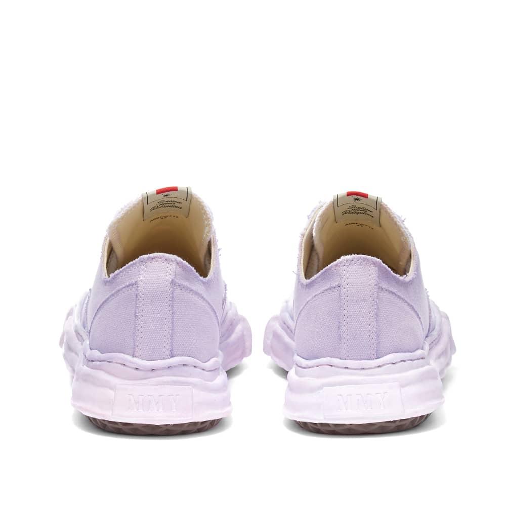 Maison MIHARA YASUHIRO Peterson Low Original Sole Dyed Sneaker - Purple