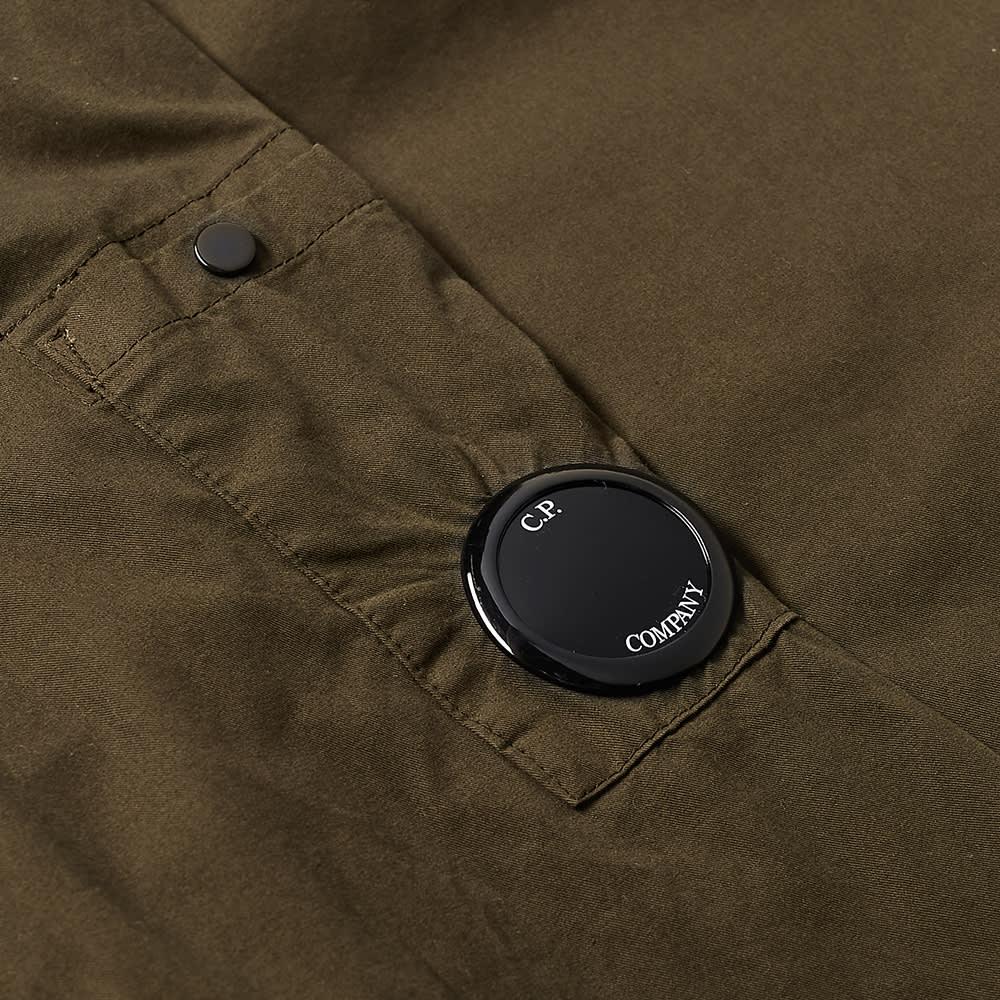 C.P. Company 2 Pocket Arm Lens Overshirt - Ivy Green