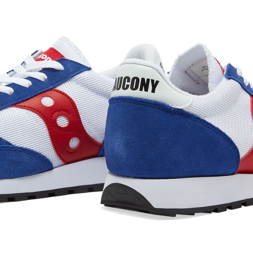 Saucony Jazz Vintage - White, Blue & Red