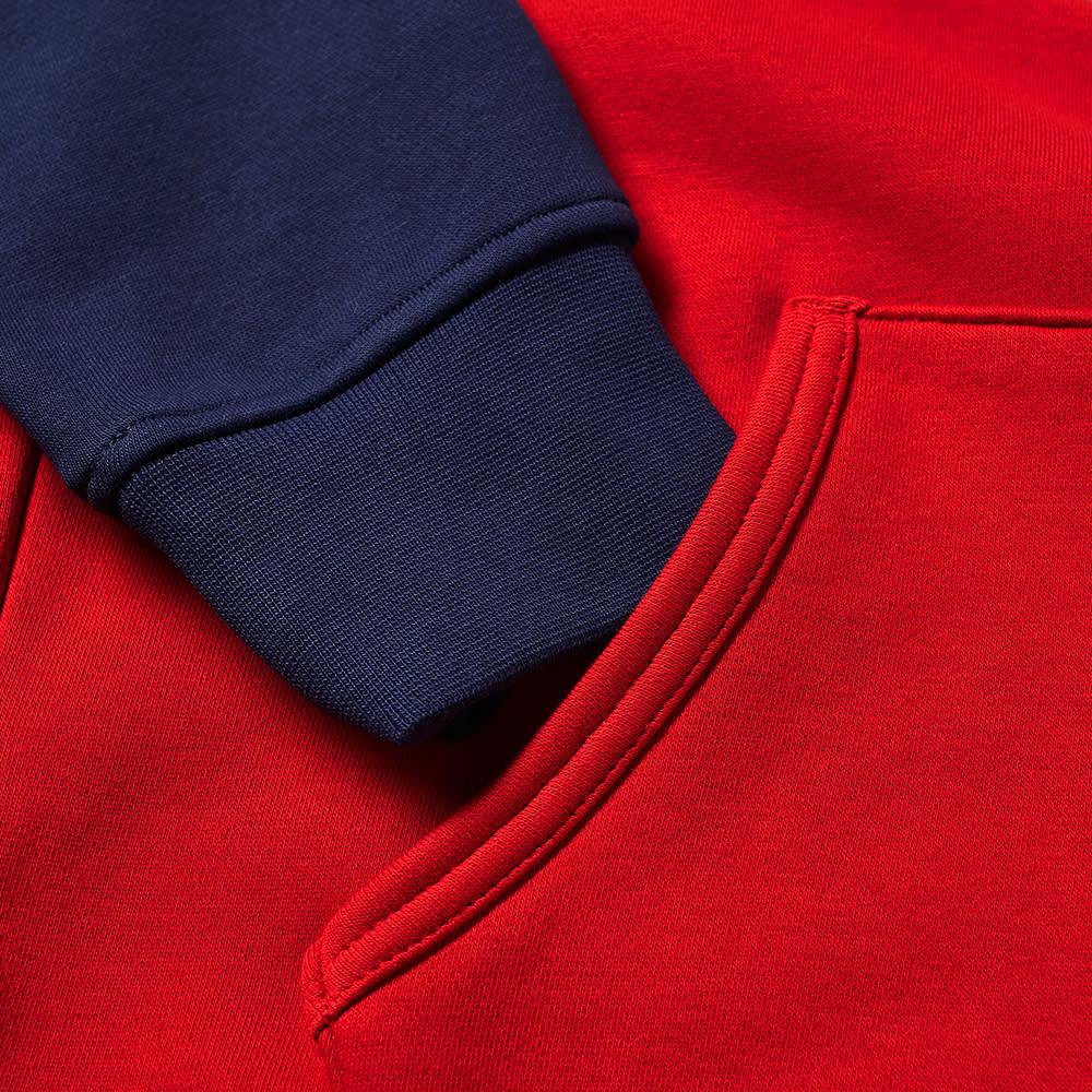 Polo Ralph Lauren Polo Sport Colour Block Popover Hoody - Red Multi