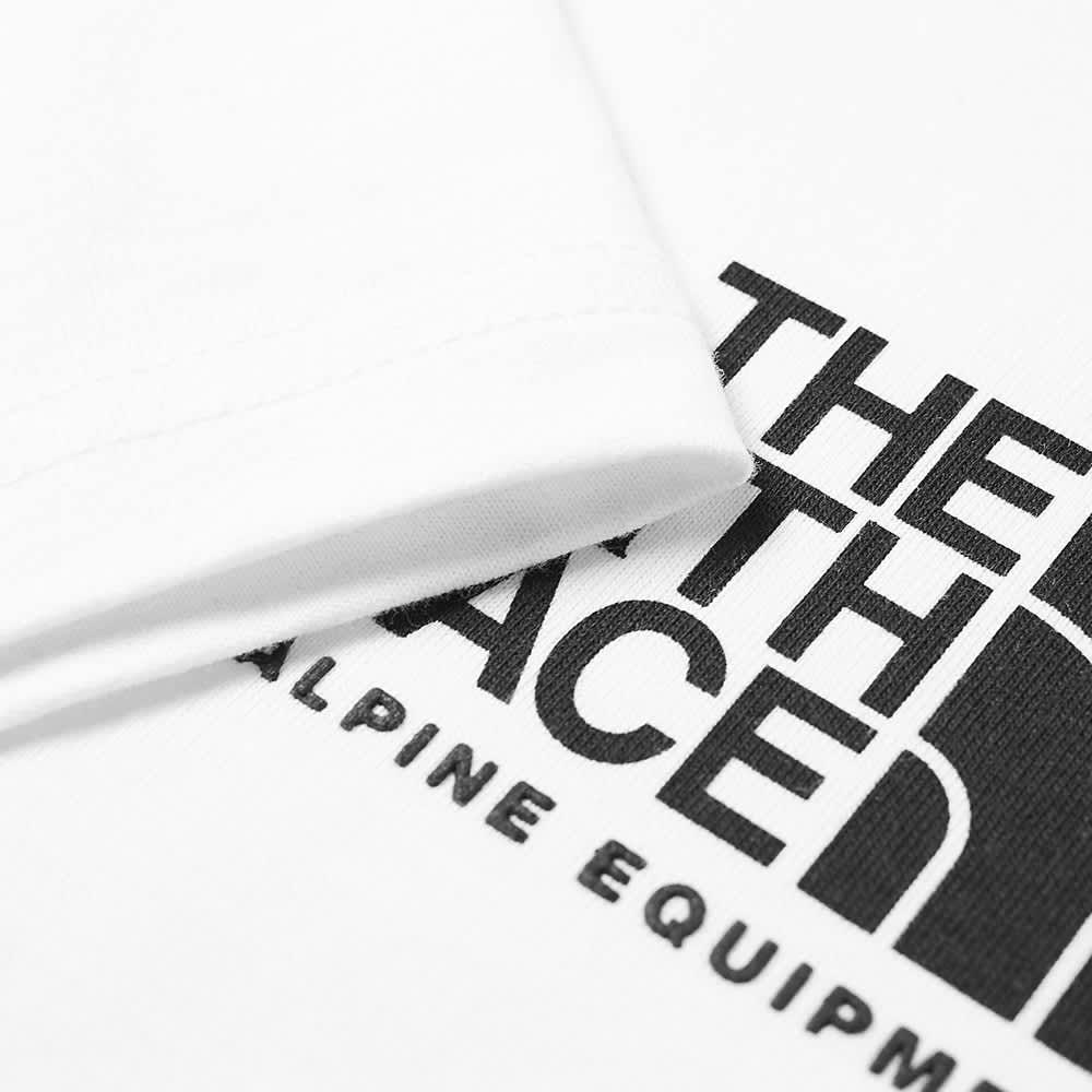 The North Face Fine Alpine Equipment 3 Tee - White & Black