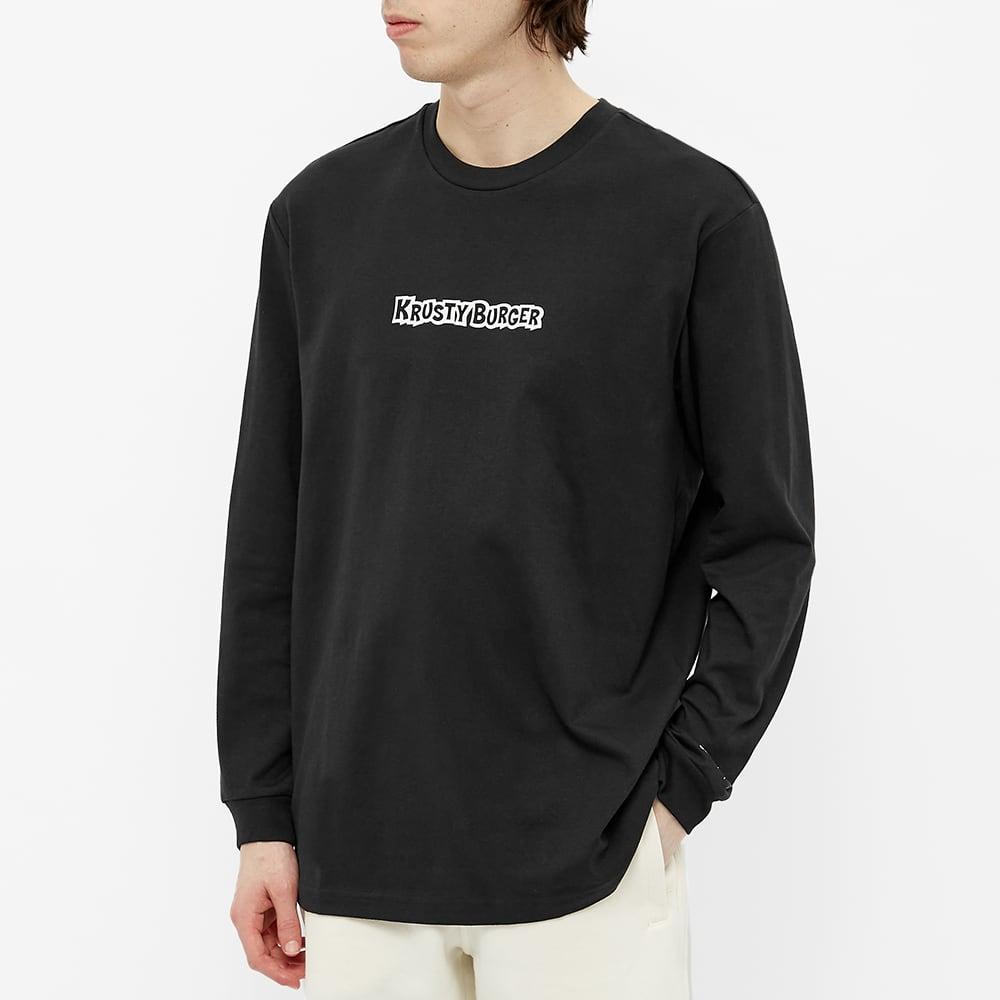 Adidas x The Simpsons Long Sleeve KB Tee - Black