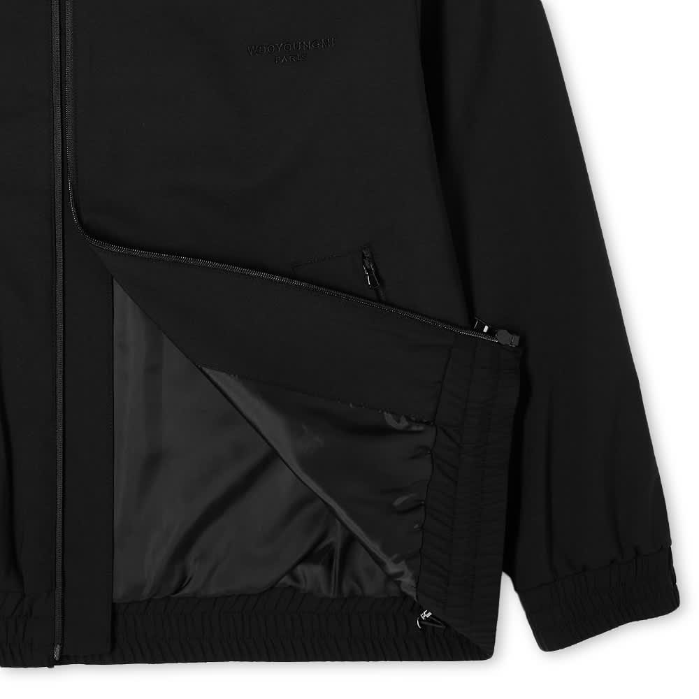 Wooyoungmi Logo Track Jacket - Black