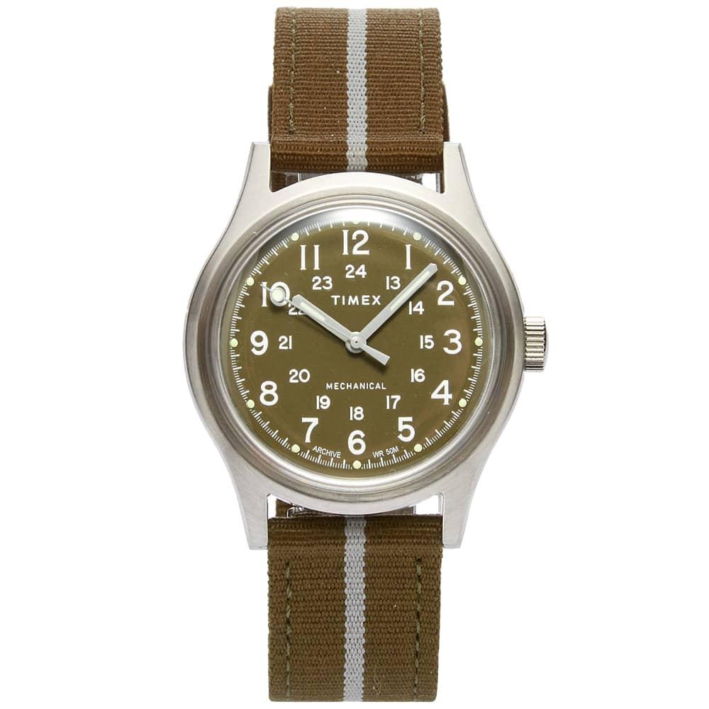 Timex Archive MK1 SST - Mechanical Version - Steel & Green