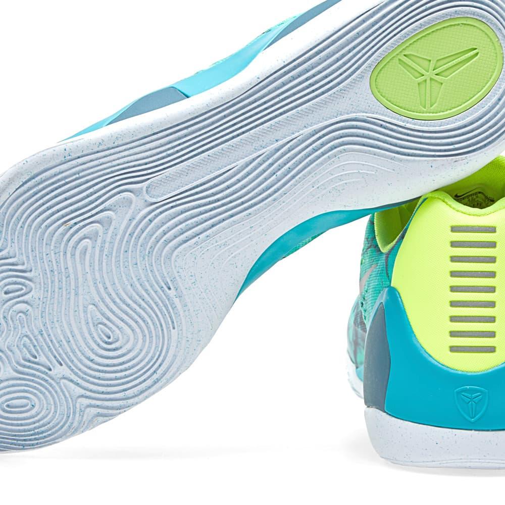 Nike Kobe IX EM 'Easter' - Turbo Green & Metallic Silver