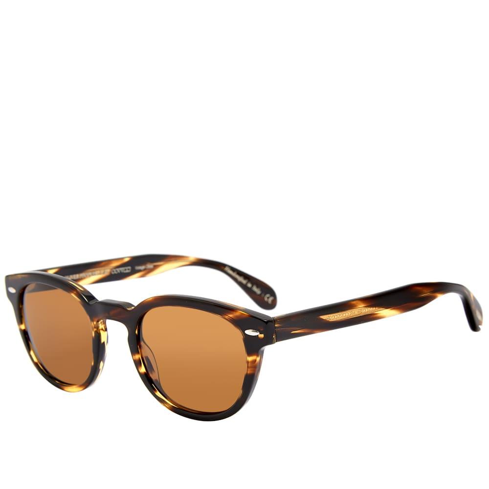 Oliver Peoples Sheldrake Sunglasses - Brown
