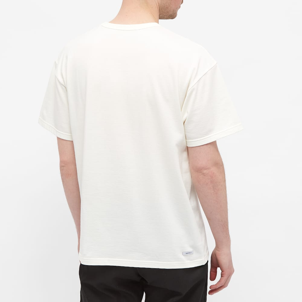 SOPHNET. Fabric Mix Pocket Tee - White
