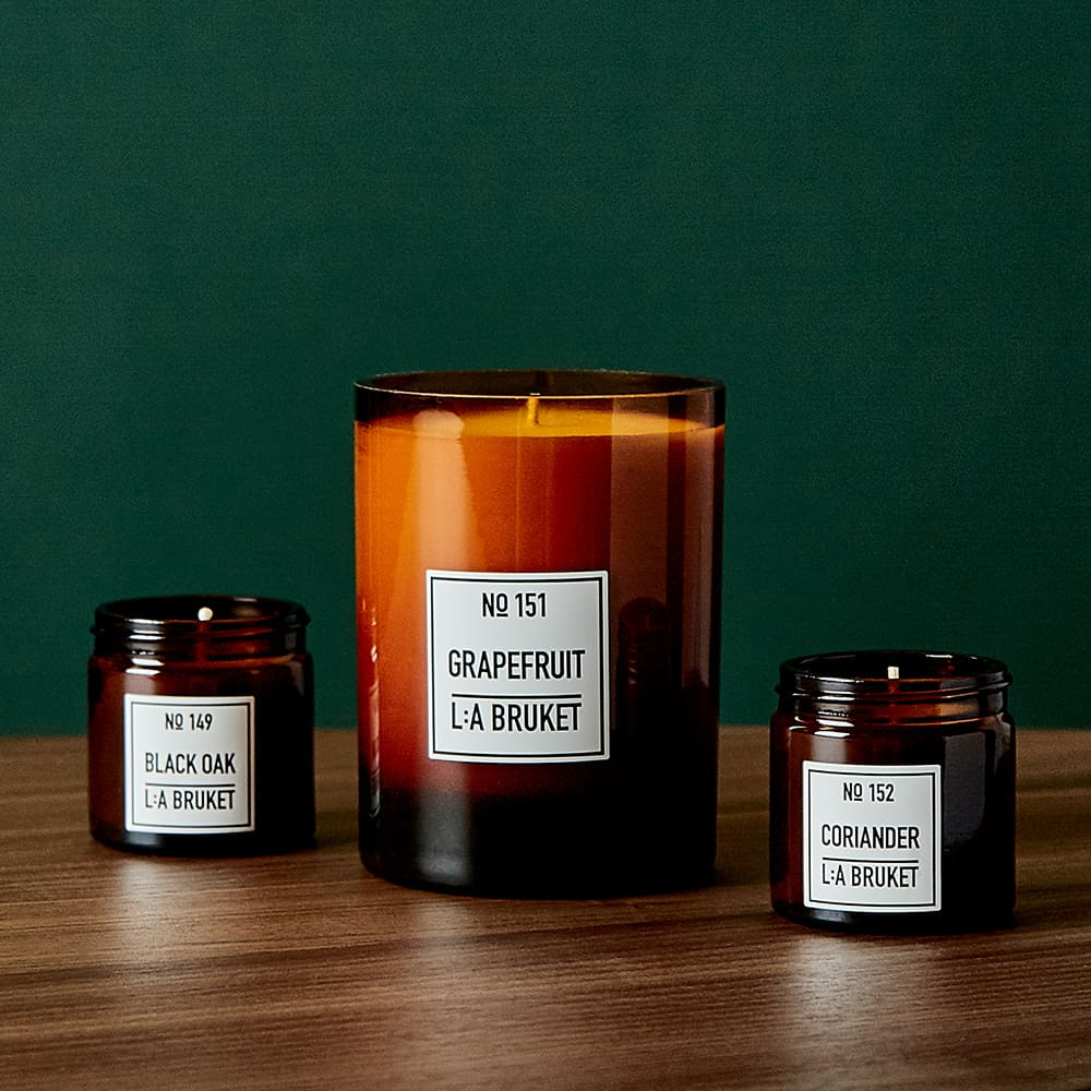 L:A Bruket Scented Candle - Coriander 50g