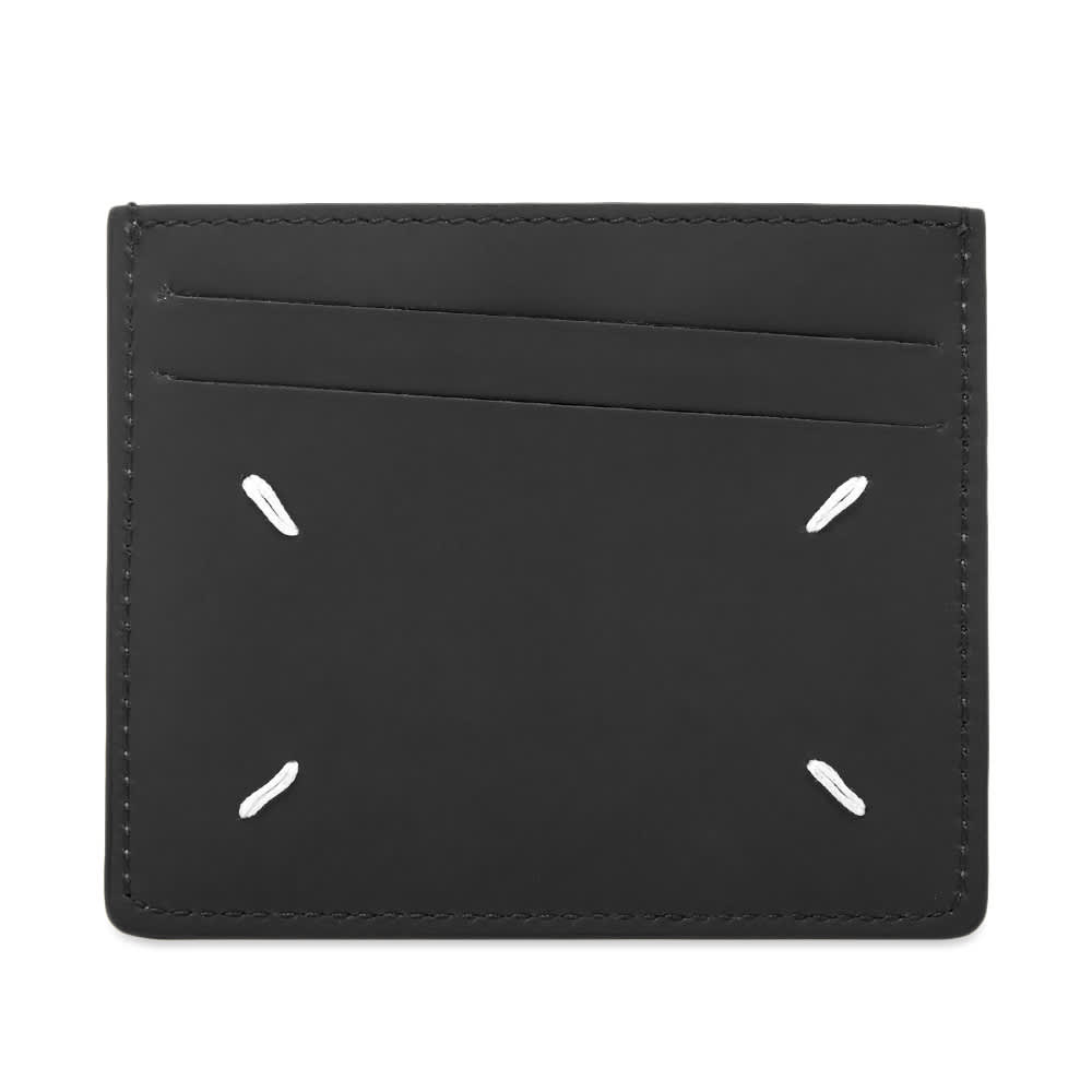 Maison Margiela 11 Classic Calf Leather Card Holder - Black