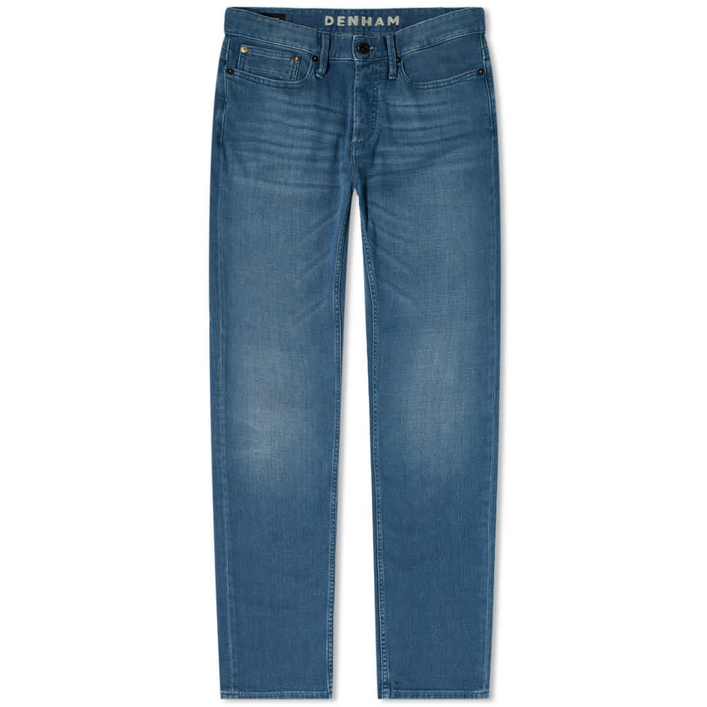 Denham Razor Left Hand Jean - Fresh Blue
