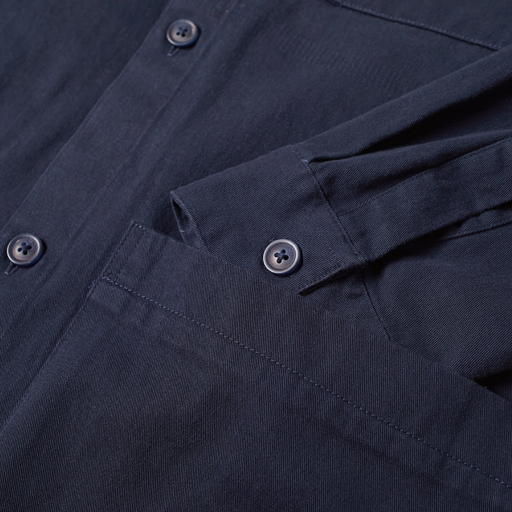 Barbour Beacon Woods Overshirt - French Navy