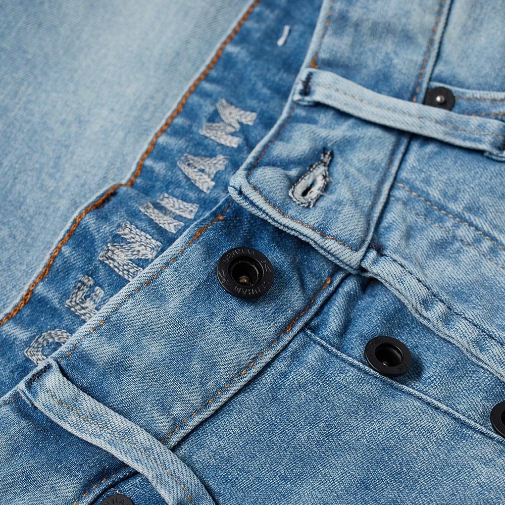 Denham Crop Jean - Vintage Indigo