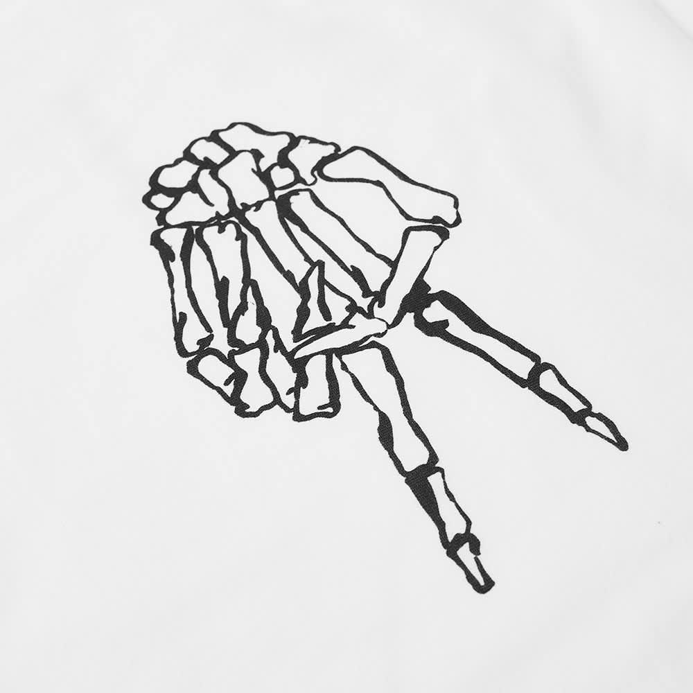 Denham Davis Skeleton Scissors Tee - White