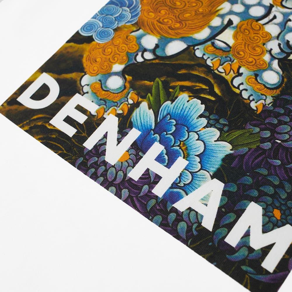 Denham Waterstone Art Box Tee - White