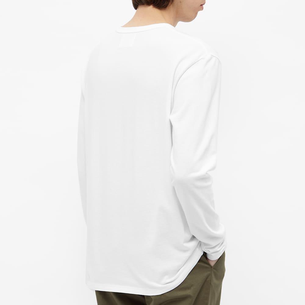Wood Wood Long Sleeve Mel Tee - White