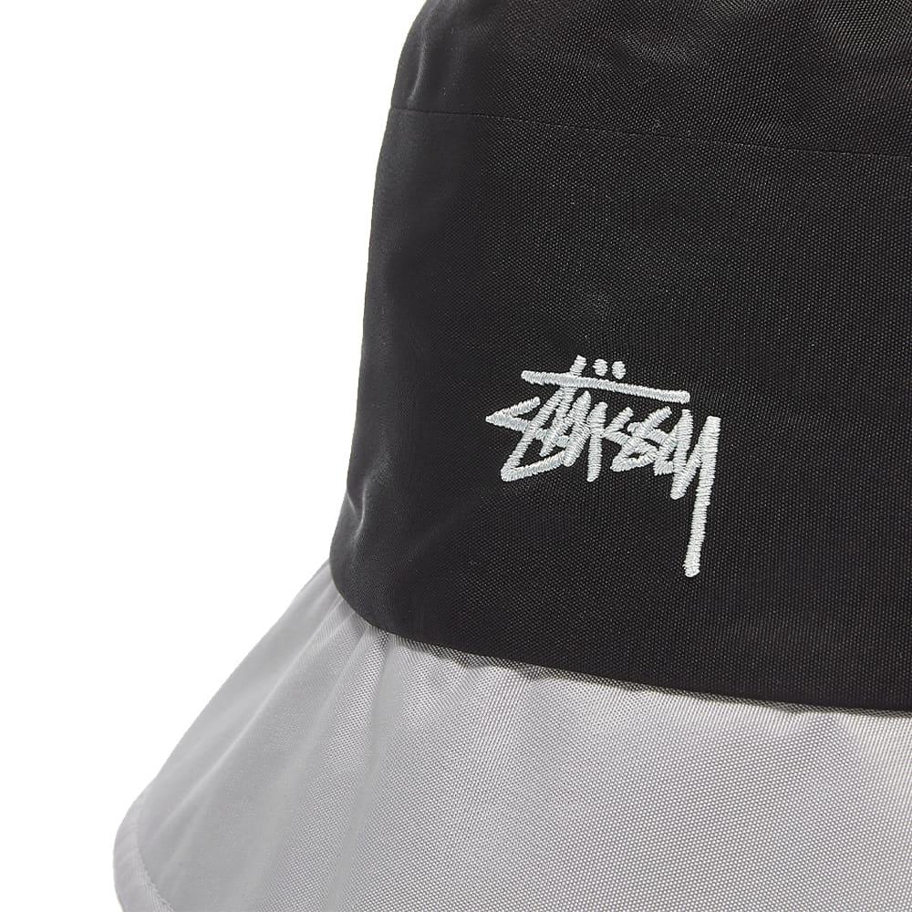 Stussy Outdoor Panel Bucket Hat - Black
