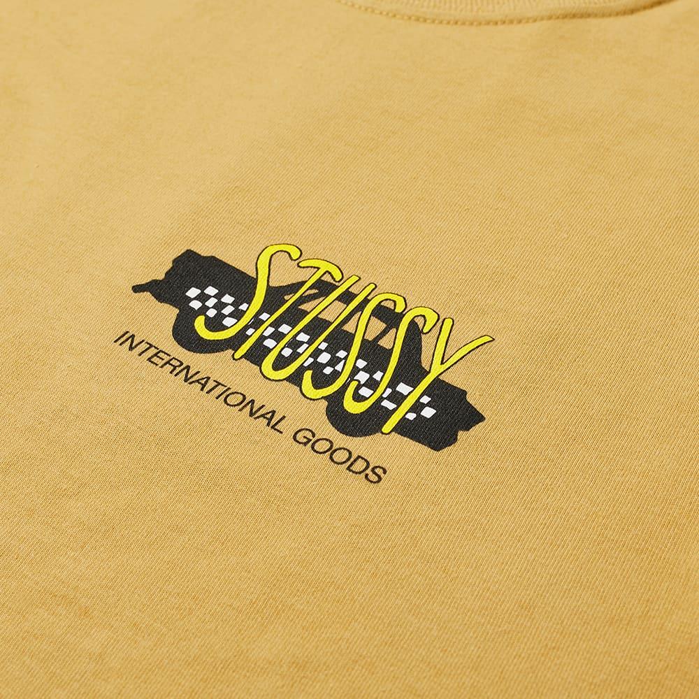Stussy Taxi Cab Tee - Khaki