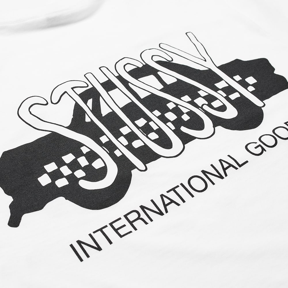 Stussy Taxi Cab Tee - White