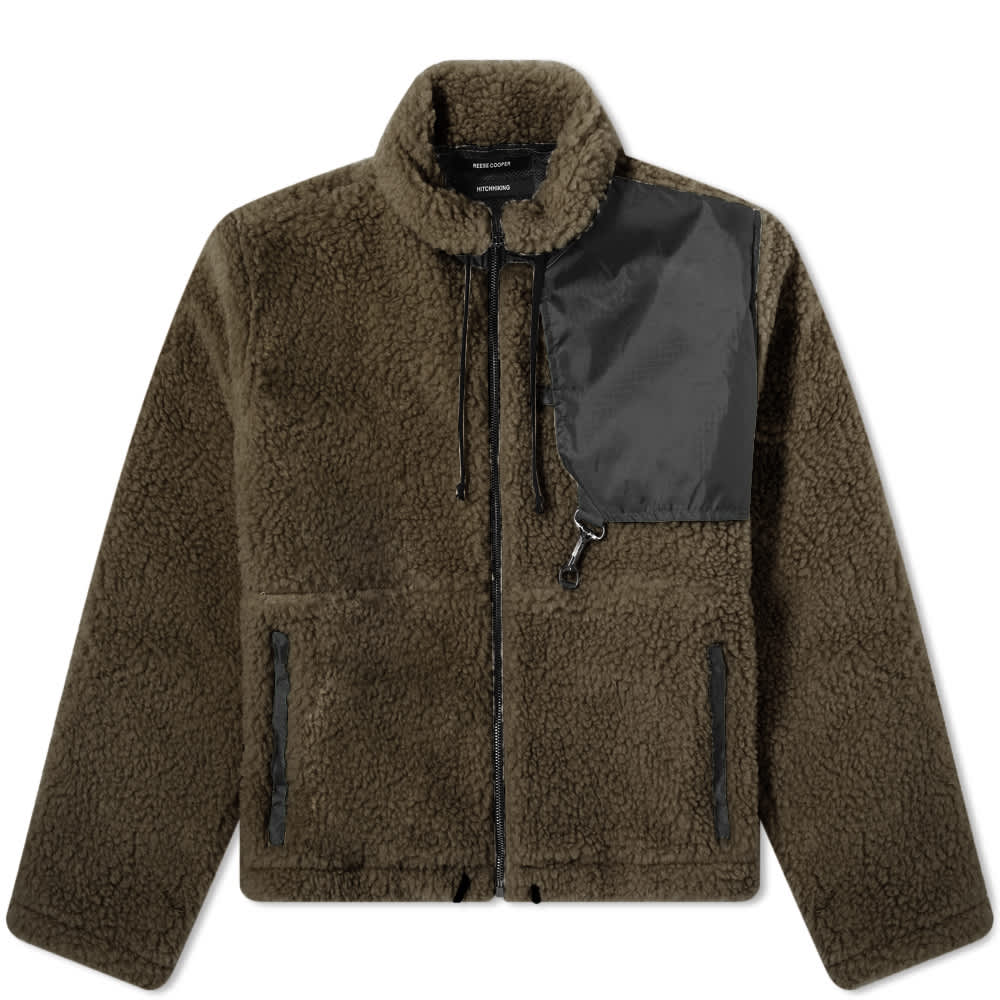 Reese Cooper Cropped Sherpa Fleece