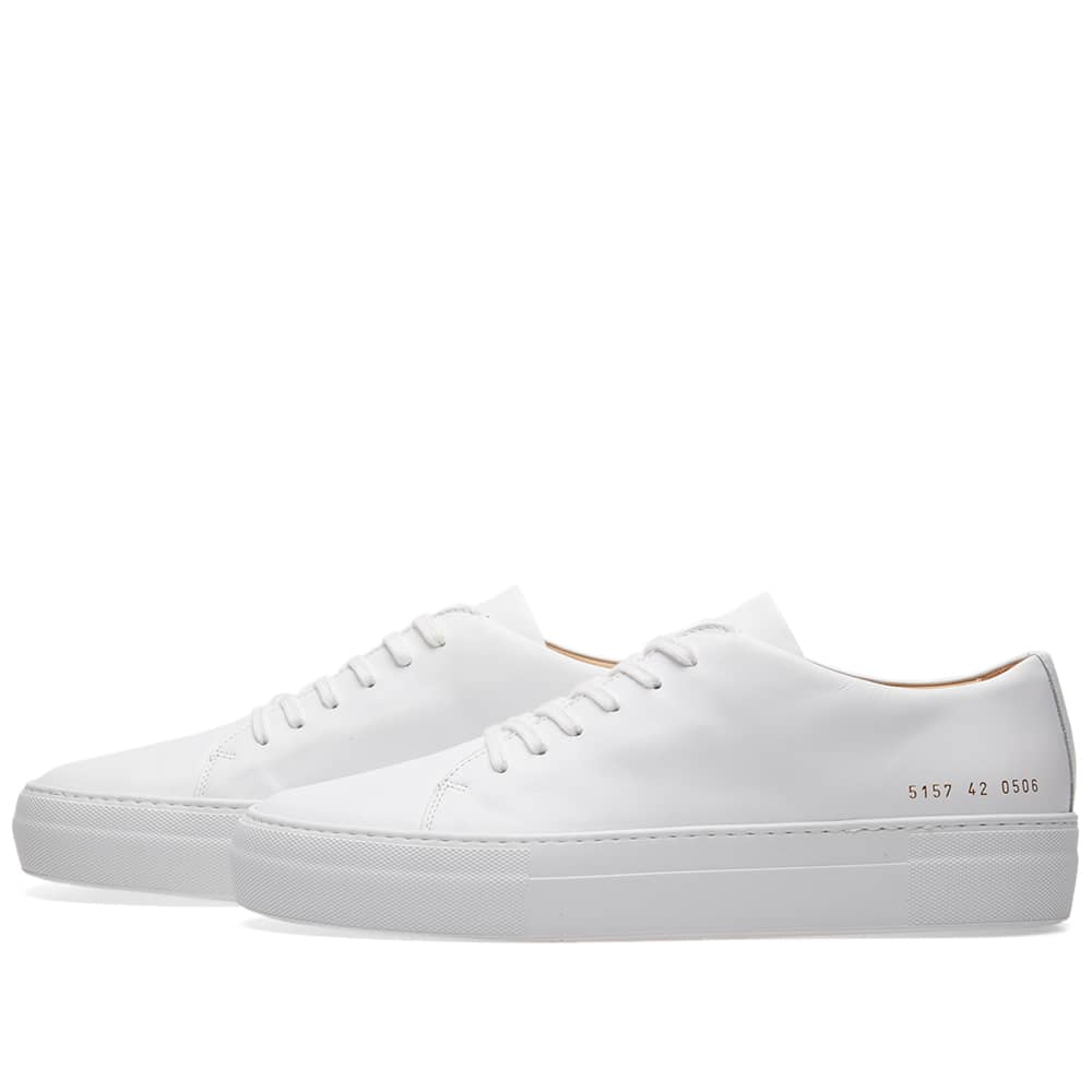 Common Projects Court Low White   END.