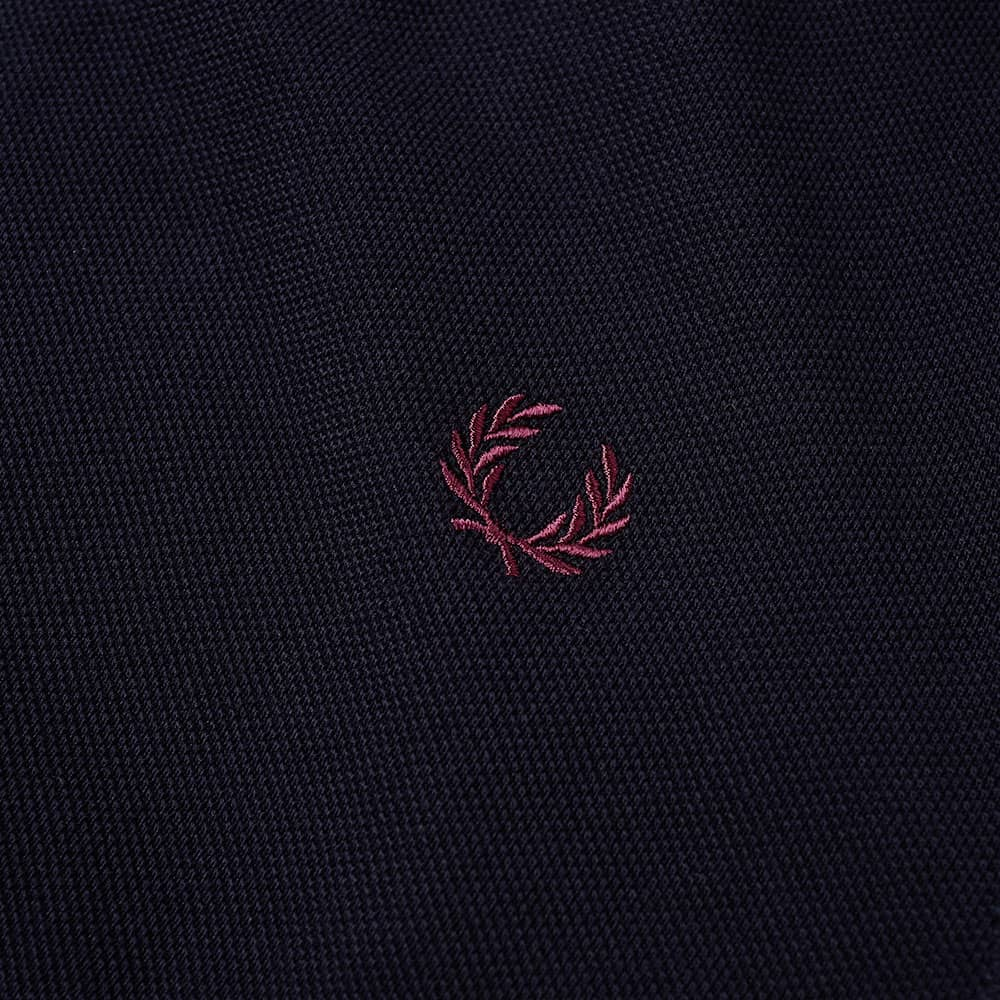 Fred Perry Contrast Tipped Polo - Navy