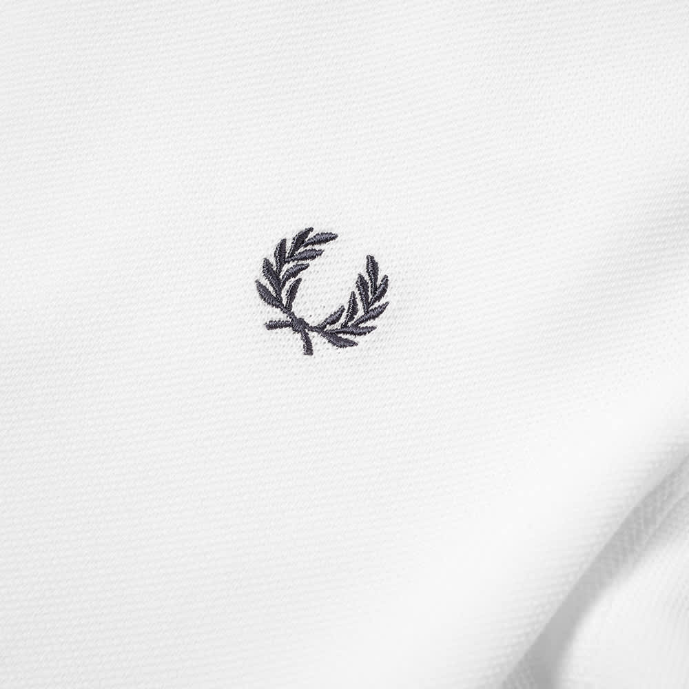 Fred Perry Contrast Tipped Polo - Snow White