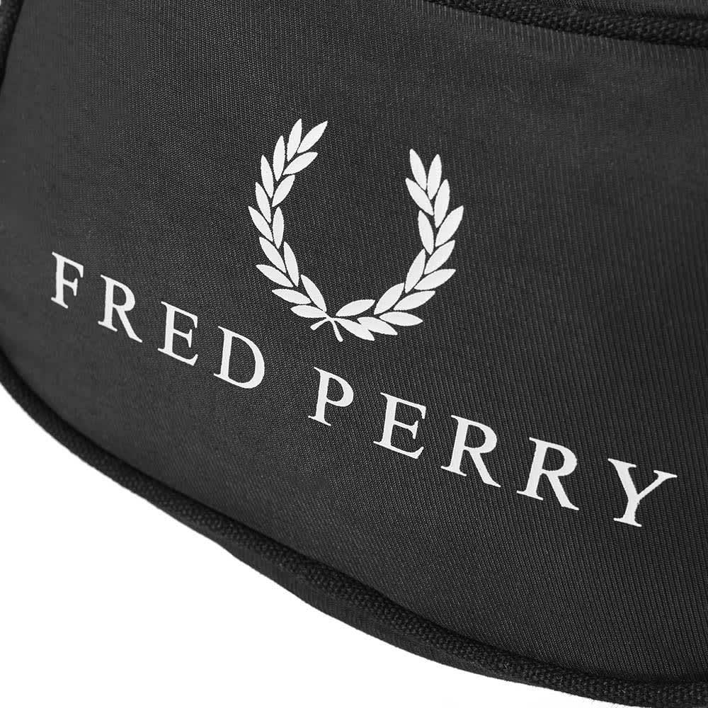 Fred Perry Retro Waist Bag - Black