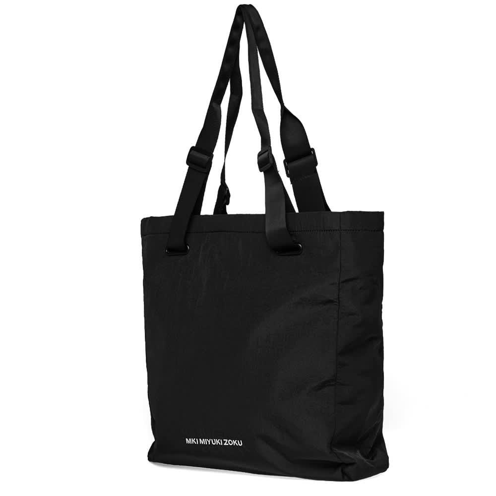 MKI Nylon Tote Bag - Black