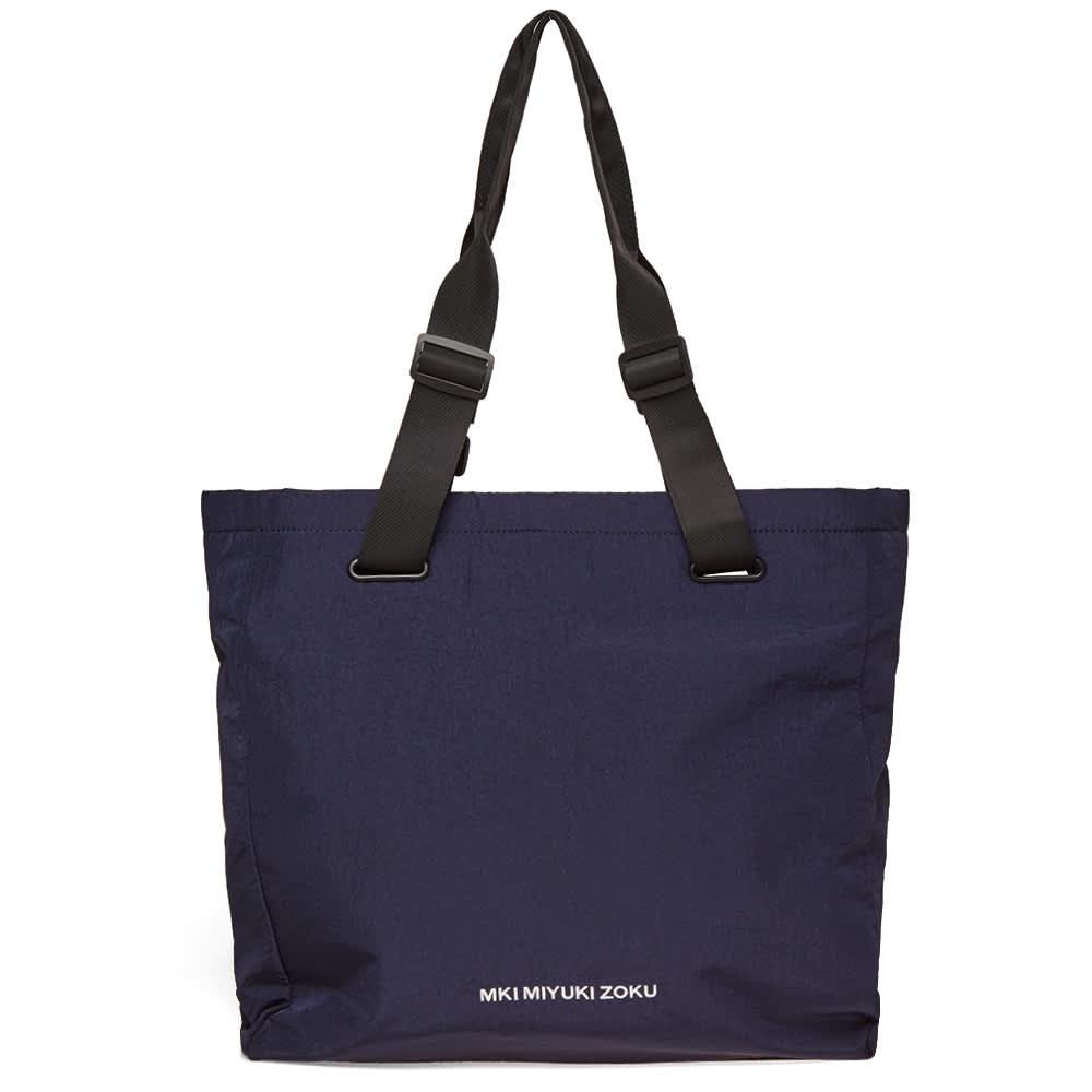 MKI Nylon Tote Bag - Navy