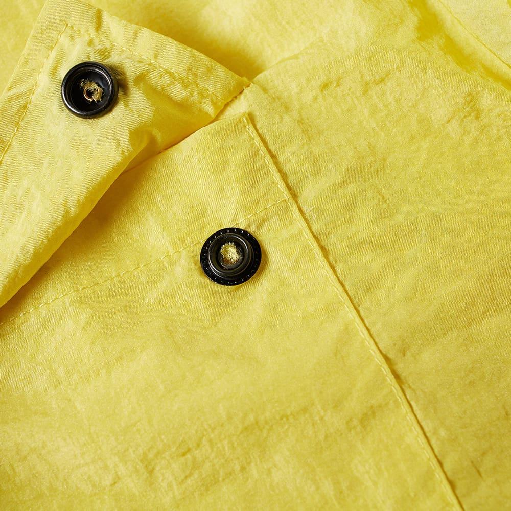 MKI Nylon Zip Shirt Jacket - Lemon