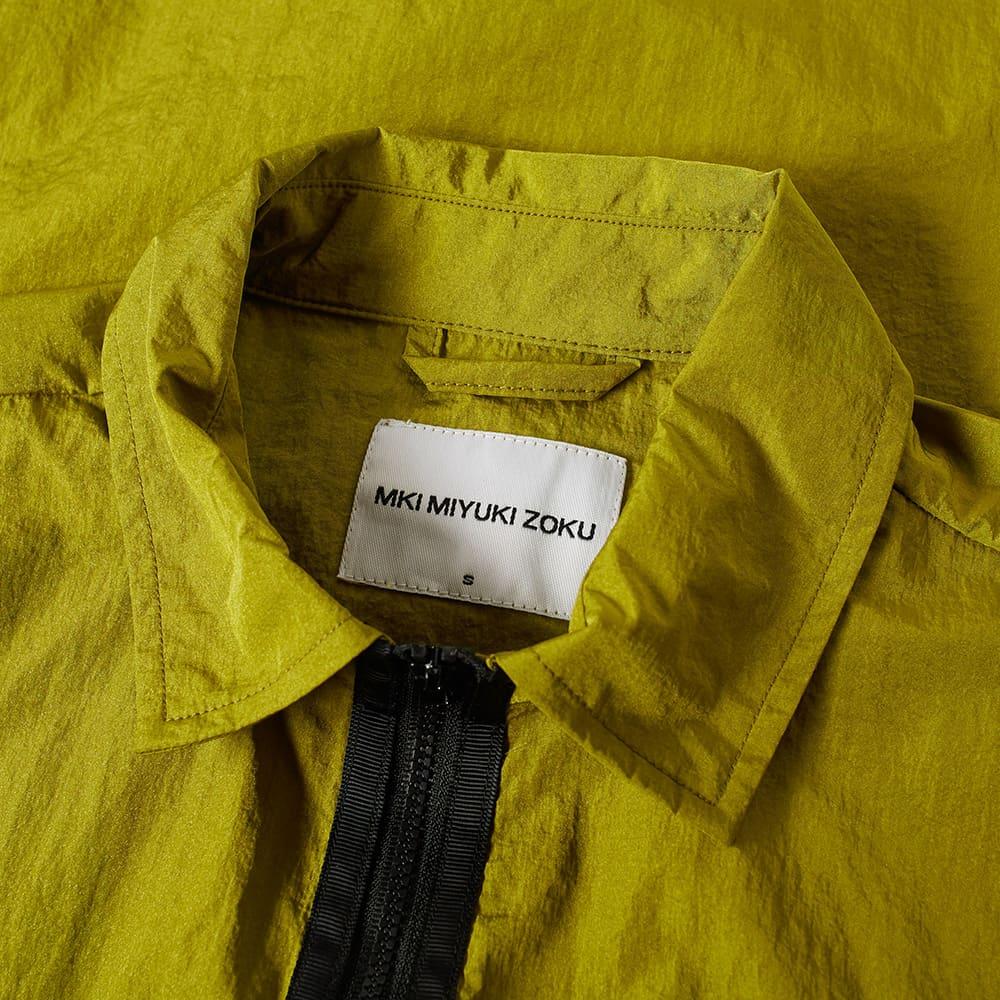 MKI Nylon Zip Shirt Jacket - Ochra