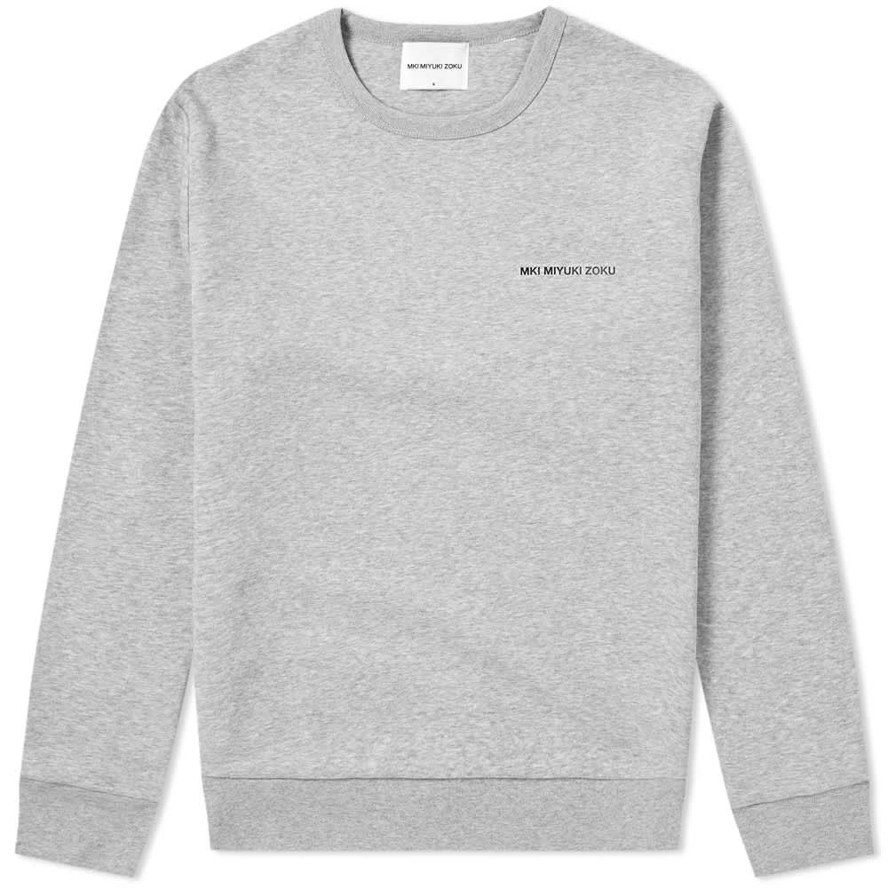 MKI Vinyl Logo Crew Sweat - Grey